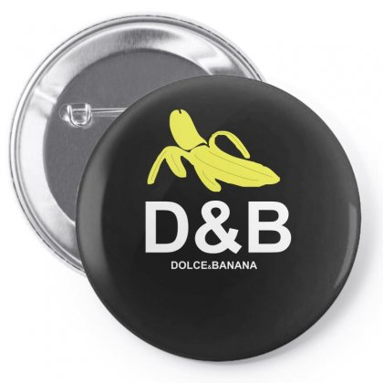 Funny Mens T Shirt Dolce & Banana Pin-back Button Designed By Ismi