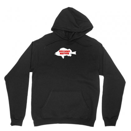 Funny Size Does Matter Fishing Fish Holiday Jarvis Reel Rod Line Sinke Unisex Hoodie Designed By Ismi