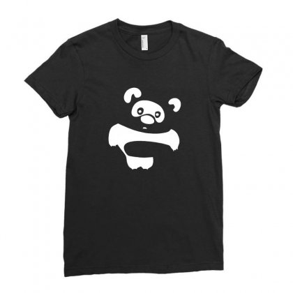 Funny Vinny Pooh Ladies Fitted T-shirt Designed By Ismi