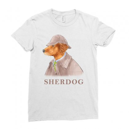 Sherdog Ladies Fitted T-shirt Designed By Akin
