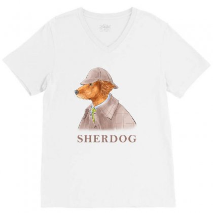 Sherdog V-neck Tee Designed By Akin