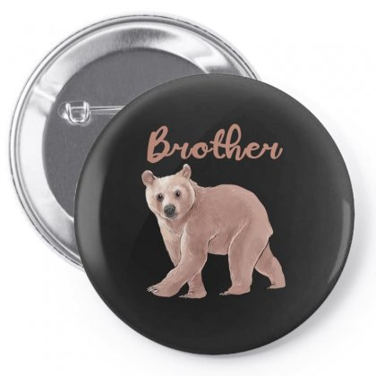 Brother Bear Pin-back Button Designed By Akin