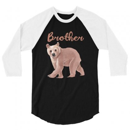 Brother Bear 3/4 Sleeve Shirt Designed By Akin