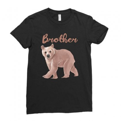 Brother Bear Ladies Fitted T-shirt Designed By Akin