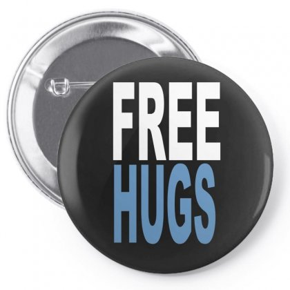 Funny T Shirts Free Hugs Adult Pin-back Button Designed By Ismi