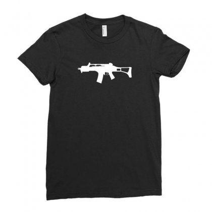 G36c Ladies Fitted T-shirt Designed By Enjang