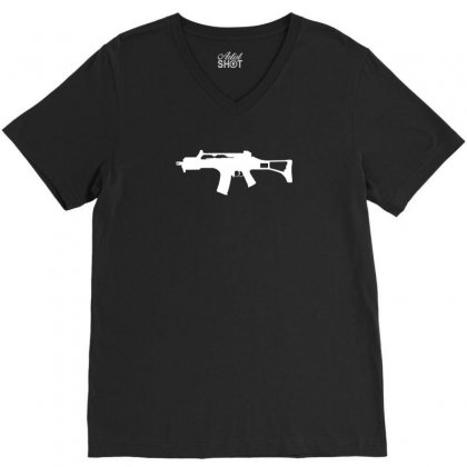 G36c V-neck Tee Designed By Enjang