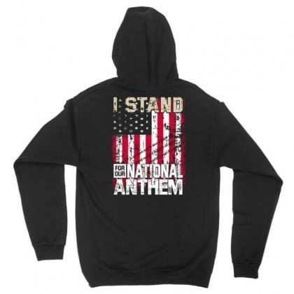 I Stand For Our National Anthem Unisex Hoodie Designed By Kakashop