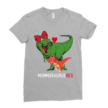 Mommysaurusrex Ladies Fitted T-shirt Designed By Wizarts