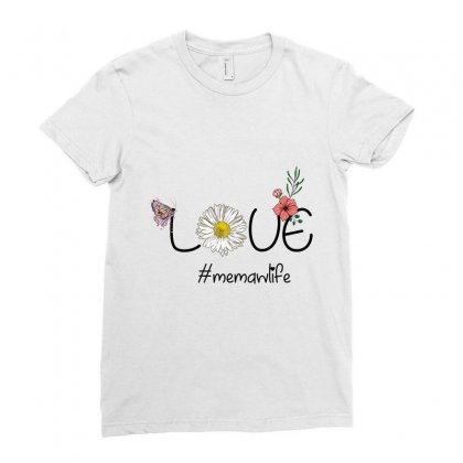 Love Memawlife Ladies Fitted T-shirt Designed By Wizarts