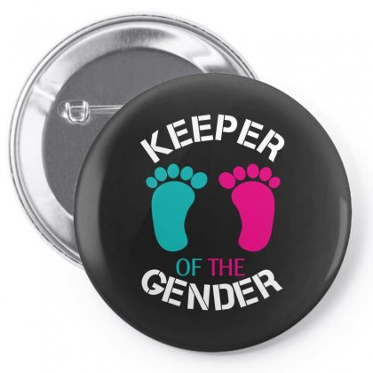 Keeper Of The Gender Pin-back Button Designed By Wizarts
