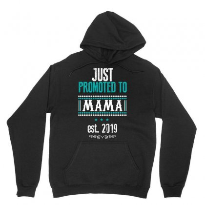 Just Promoted To Mama Est. 2019 Unisex Hoodie Designed By Wizarts