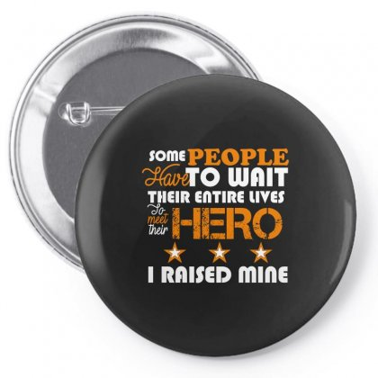 I Raised Mine Pin-back Button Designed By Wizarts