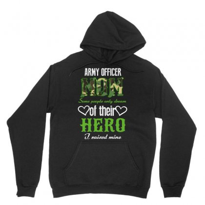 Army Officer Mom Unisex Hoodie Designed By Wizarts