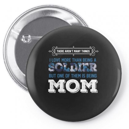 Soldier Mom Pin-back Button Designed By Wizarts