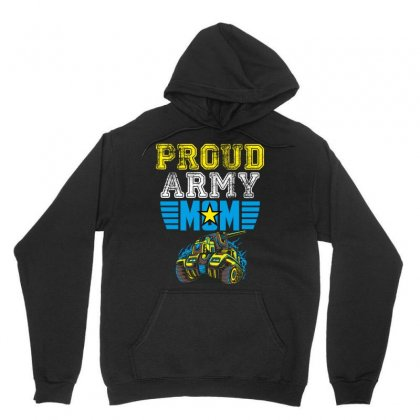 Proud Army Mom Unisex Hoodie Designed By Wizarts