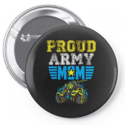 Proud Army Mom Pin-back Button Designed By Wizarts