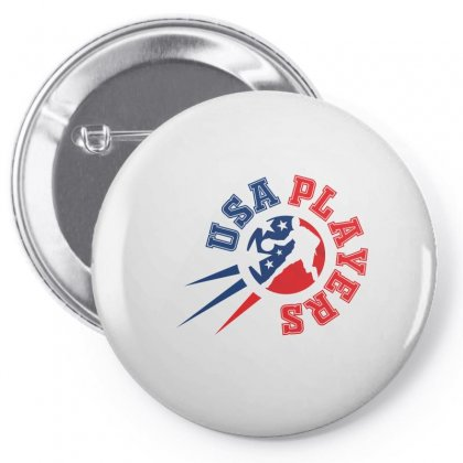 Basketball Player Creative Icon Pin-back Button Designed By Lion Star Art