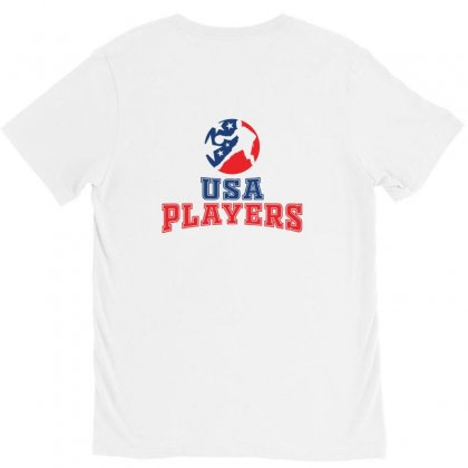 Basketball Player Creative Icon V-neck Tee Designed By Lion Star Art