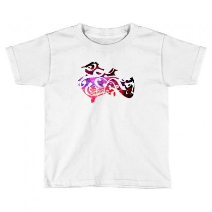 Beauty Of Letters Collage Toddler T-shirt Designed By Lion Star Art