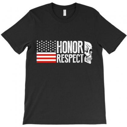 Honor Respect T-shirt Designed By Wizarts