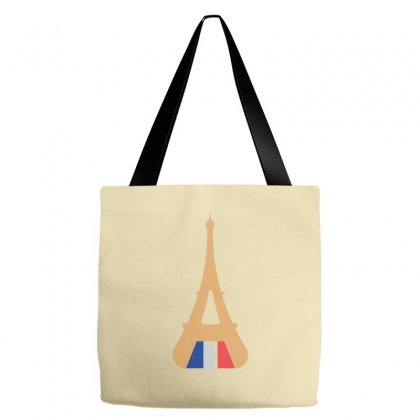 France Eiffel Tower Gate Icon Tote Bags Designed By Lion Star Art