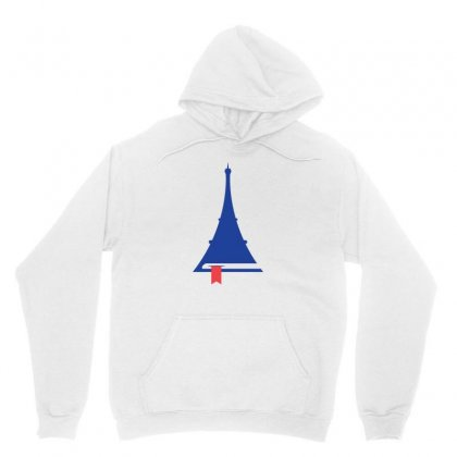 France Eiffel Tower Reading Icon Unisex Hoodie Designed By Lion Star Art