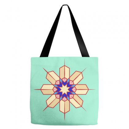 Geometric Tote Bags Designed By Lion Star Art