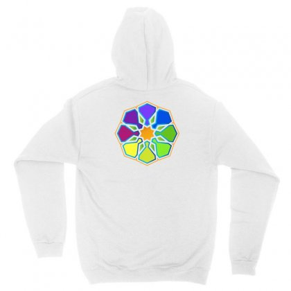 Geometric Colorful Unisex Hoodie Designed By Lion Star Art