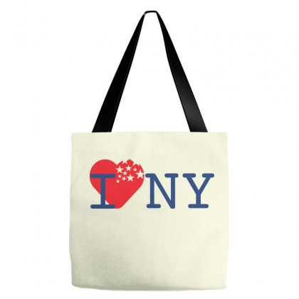 I Love New York Creative Basketball Icon Tote Bags Designed By Lion Star Art