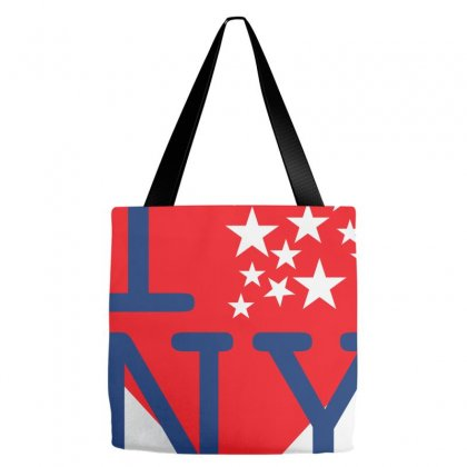 I Love New York Creative Icon Tote Bags Designed By Lion Star Art