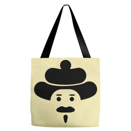 Man Icon Tote Bags Designed By Lion Star Art