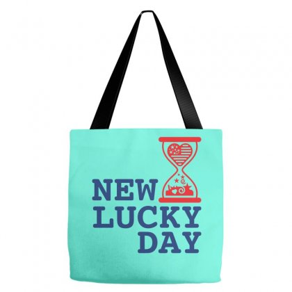 Usa New Lucky Day Creative Icon Tote Bags Designed By Lion Star Art