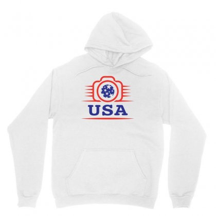 Photographers Of The United States Creative Icon Unisex Hoodie Designed By Lion Star Art