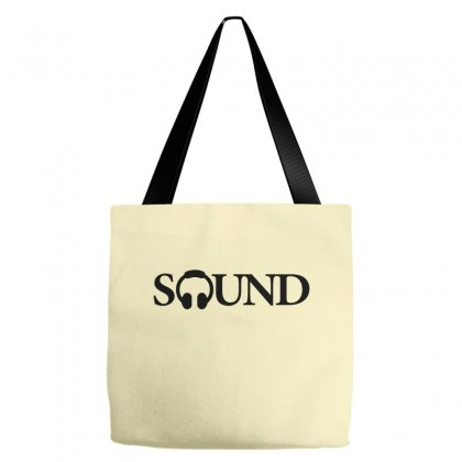 Sound Creative Icon Tote Bags Designed By Lion Star Art