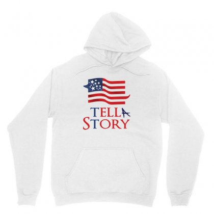 Usa Tell A Story Creative Icon Unisex Hoodie Designed By Lion Star Art