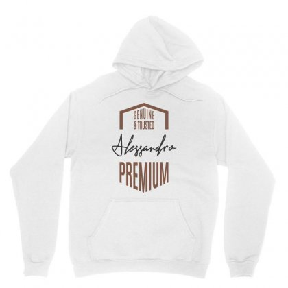 Is Your Name Alessandro ? This Shirt Is For You! Unisex Hoodie Designed By Chris Ceconello