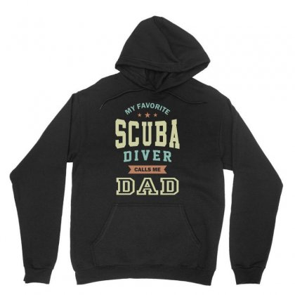 My Favorite Scuba Diver Call Me Dad Unisex Hoodie Designed By Cidolopez