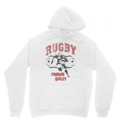 Rugby Unisex Hoodie Designed By Cidolopez