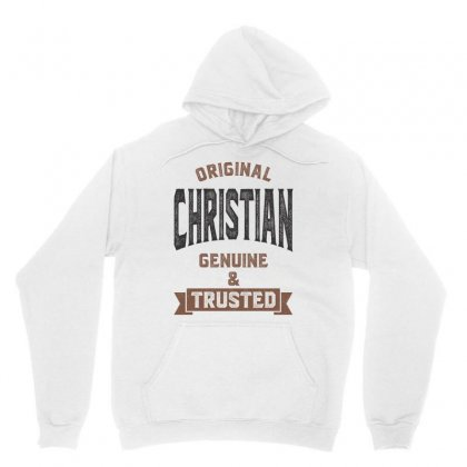 Is Your Name Christian ? This Shirt Is For You! Unisex Hoodie Designed By Chris Ceconello