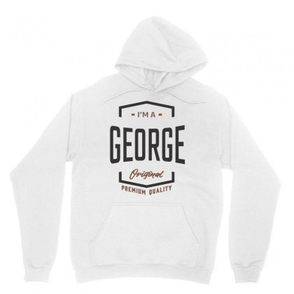 Is Your Name George ? This Shirt Is For You! Unisex Hoodie Designed By Chris Ceconello