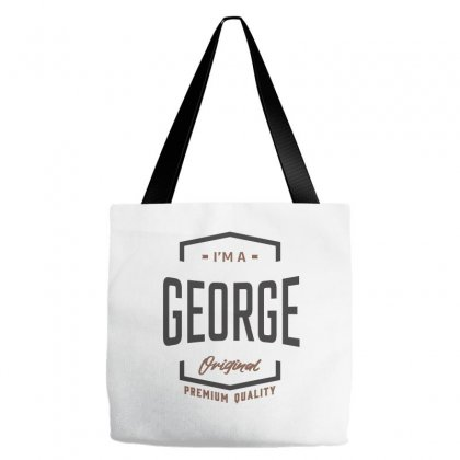 Is Your Name George ? This Shirt Is For You! Tote Bags Designed By Chris Ceconello