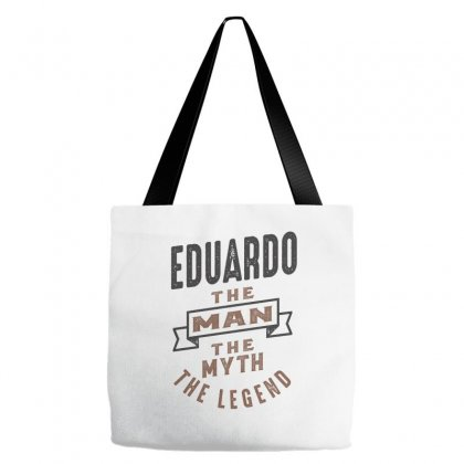 Is Your Name  Eduardo ? This Shirt Is For You! Tote Bags Designed By Chris Ceconello