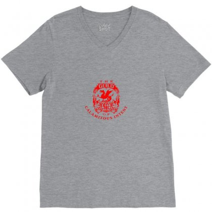 Guild Of Calamitous Intent V-neck Tee Designed By Tasha