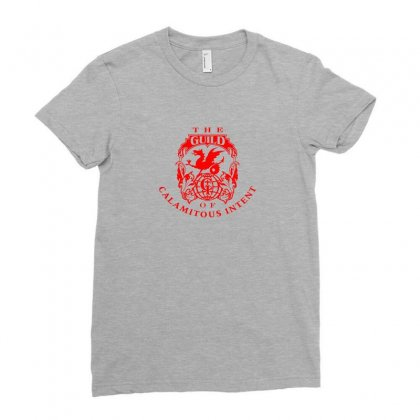 Guild Of Calamitous Intent Ladies Fitted T-shirt Designed By Tasha