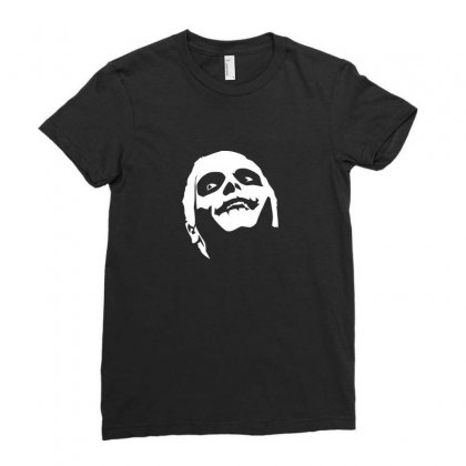 Gerard Way Ladies Fitted T-shirt Designed By Enjang
