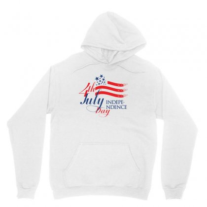 Usa Independence Day Creative Icon Unisex Hoodie Designed By Lion Star Art