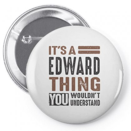 Is Your Name  Edward ? This Shirt Is For You! Pin-back Button Designed By Chris Ceconello