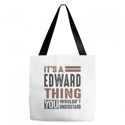 Is Your Name  Edward ? This Shirt Is For You! Tote Bags Designed By Chris Ceconello
