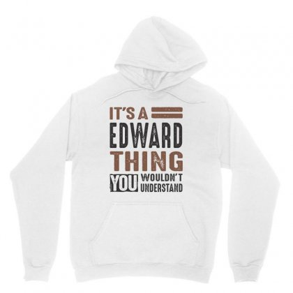 Is Your Name  Edward ? This Shirt Is For You! Unisex Hoodie Designed By Chris Ceconello